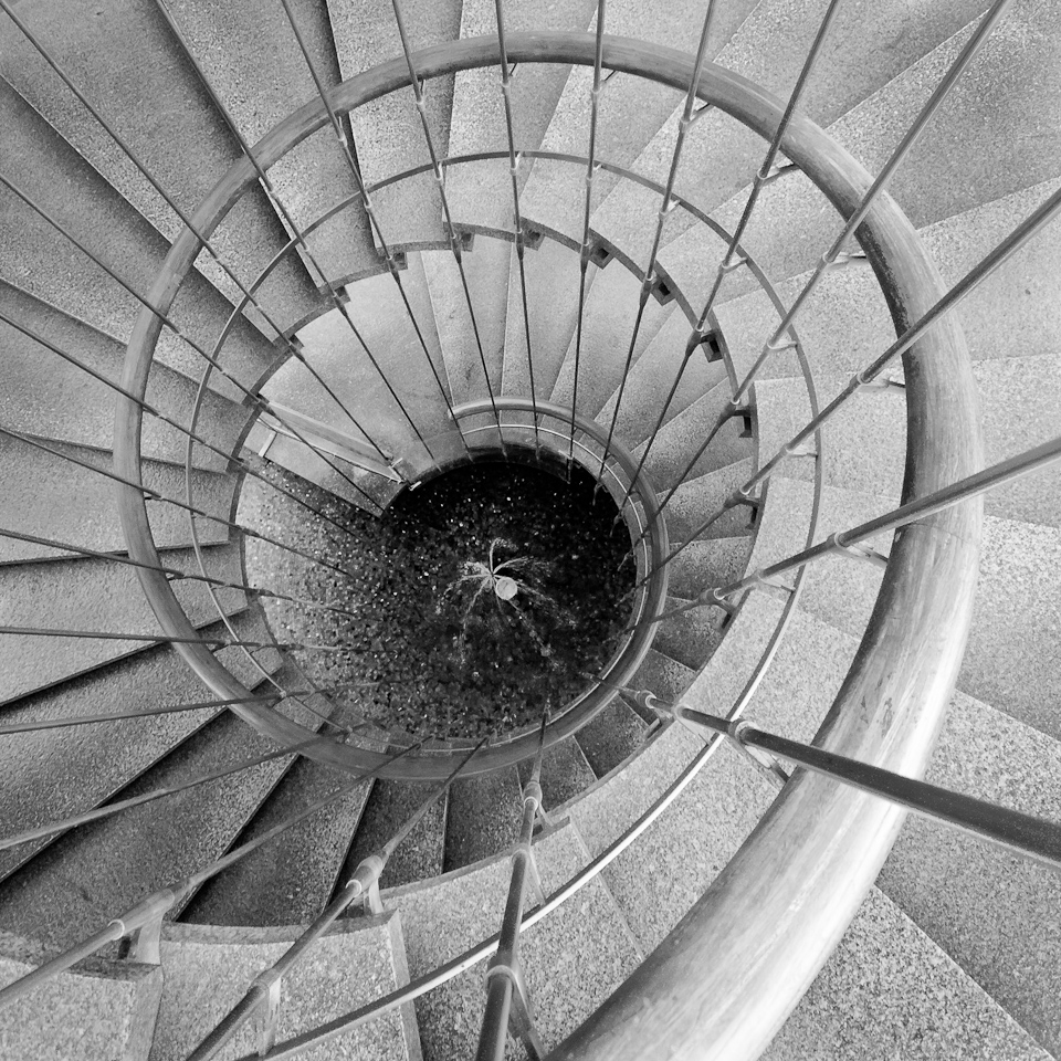 Spiral Staircase DWP Building Los Angeles