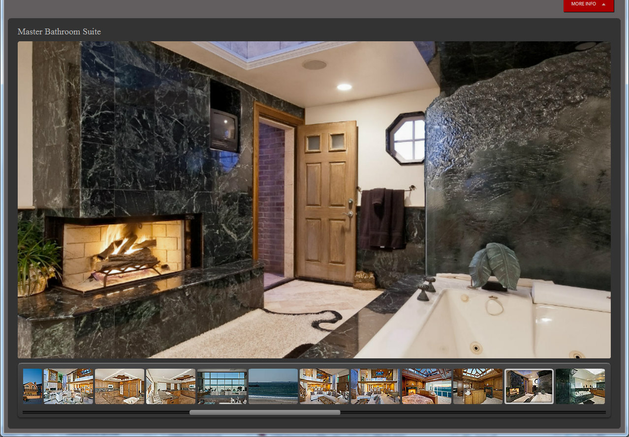 New Sleek virtual tour layout and design for 2012