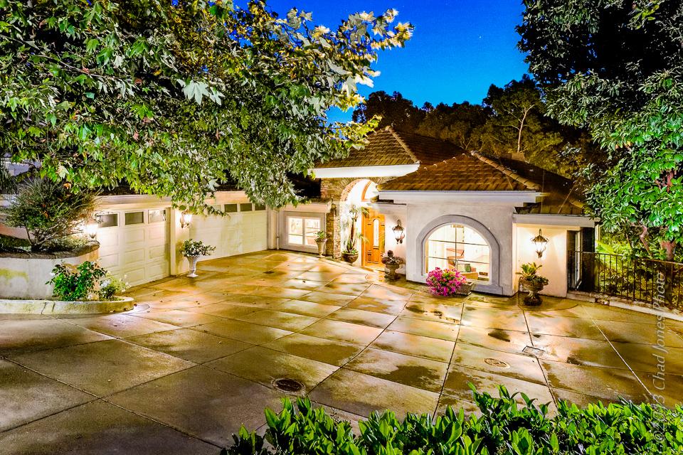 Malibu Real Estate Photography Exterior Twilight