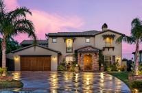 Granada Hills Estate Exterior Twilight