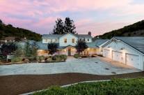 Somis Valley Estate Twilight Exterior